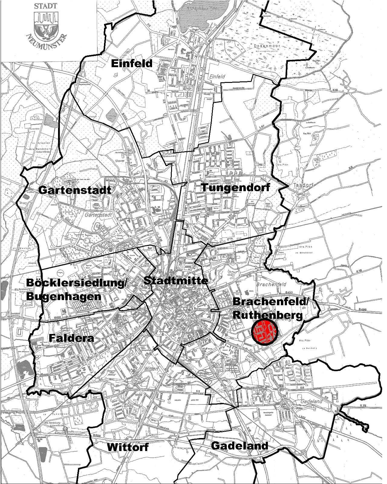 bebauungsplan nr 088 3 vereinfachte nderung marktplatz ruthenberg stadt neum nster